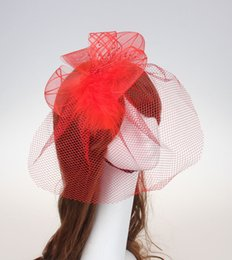 Wholesale Hair Clips Cheap - Cheap Hot Sale Party Hat Bridal Veil Hair Clip Wedding Birthday Party Costume Fancy Dress Free Shipping Hot Sale