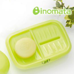 doppio piatto di sapone Sconti Portasapone in materiale plastico inomata con doppio porta sapone