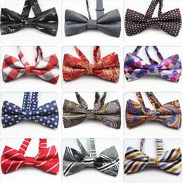 Mens Self Bow Ties Nuevo 100% Seda de Lujo Llanura Tie Bowtie Mariposas Negocios Accesorios de boda Multi-colores desde fabricantes