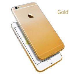 Wholesale wholesale minimum - Luxury Phone case for iPhone 8 plus X 7 gradient case Soft Silicon Cases wholesale Minimum 10