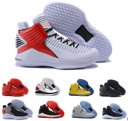 Wholesale Cracks Shoes - 2018 MVP XXXII 32s Low Flights Speed Men's Basketball Shoes Gatorade Win Like 82 96 Black Cat Blue Red Hornets Black Crack Sports Sneakers