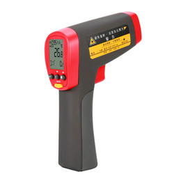 Kontaktlaser online-UNI-T UT302D UT302C UT302A Infrarot-Thermometer-Digital-Meter Berührungslose IR-Lasertemperatur-Pistolen-Messbereich -32 ~ 1050 Grad