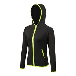Wholesale Tights Coat - Wholesale-Yuerlian 2017 New Women's Running Jacket Long Sleeve Running Hoodie Yoga Gym Fitness Tight Tops Quick-Dry Breathable Sports Coat