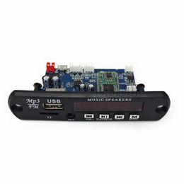 Usb digitaler decoder online-5 V / 12 V APP Steuerung Bluetooth 4,0 MP3 Decodierkarte Modul Tf-karte USB FM APE FLAC Decoder Board Digital Red LED