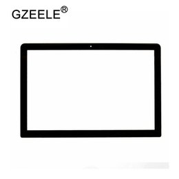 "Wholesale Lcd Screen Macbook 13 - GZEELE New Matrix LCD LED Screen Glass For Macbook Pro 13"" 15"" 17"" Unibody A1278 A1286 A1297 Glass Display 2009 2010 2011 2012"
