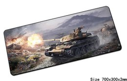 Wholesale Popular Laptops - World of tanks mouse pad 70x30cm pad to mouse Popular computer mousepad gaming mousepad gamer to locrkand laptop mat