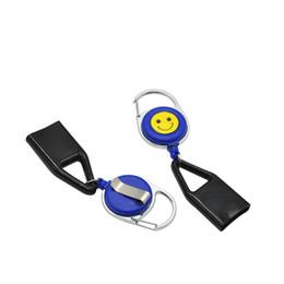 Teclas sonríen online-Lighterh Leash Safe Stash Clip Retráctil Cadena dominante Cara Sonrisa Titular más ligero CIGRE CUTTER BLUNT SPLUTTER Envío gratis