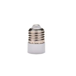 Wholesale e14 e27 adapter converter - ZLinKJ 1Pcs E27 to E14 Base LED Light Lamp Bulb Converter Adapter Screw Socket