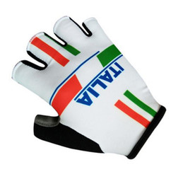 Wholesale Italy Bike - 2017 New Italy Brand Tour de 3D GEL Pad Sport Gloves Half Finger MTB Bike Gloves Cycling Gloves Luvas Bicicleta Ciclismo
