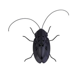 Wholesale Power Toys For Kids - Wholesale- Mini Solar Power Cockroach Insect Toy Cute Gag Toy Early Educational Solar Power Cockroach for Preschool Kids Students