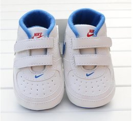 Wholesale Girls 12 18 Months - Baby Shoes Newborn Boys Girls Heart Star Pattern First Walkers Kids Toddlers Lace Up PU Sneakers 0-18 Months Gift