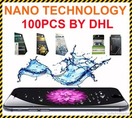 Wholesale Liquid Film - Lamorniea Invisible Full Cover Phone Screen Protector NANO Liquid Technology 3D Curved Edge Tempered Glass Film for Universal Phone