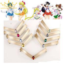 2019 японские наголовники Japanese Sailor Moon Tsuking Usagi Sailor Mars Chibi Jupiter EVA Headwear Headband Tiara 25th Anniversary Cosplay Prop Accessory скидка японские наголовники