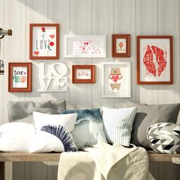 Set di opere d'arte incorniciate online-Photo Wall Perfect Artwork, Set di cornici da parete, Decorazioni per la casa e la parete, Set di cornici da parete, Bella