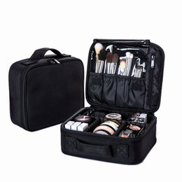 Lagertank online-Frauen Professionelle Kosmetiktasche Große Wasserdichte Reise Make-Up Tasche Kofferraum Reißverschluss Bilden Veranstalter Aufbewahrungstasche Kulturbeutel Box