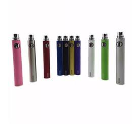 10 PCS Différence couleur EVOD Tension Variable batterie 650mAh 900mAh 1100mAh evod twist eGo ecig batteries pour MT3 CE4 CE5 atomiseur ? partir de fabricateur