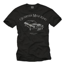 Гоночные автомобили онлайн-Custom Race US Muscle Car Херрен Футболка с Мустангом - Männer Oldtimer Авто ShirtFunny бесплатная доставка Унисекс Повседневная футболка подарок