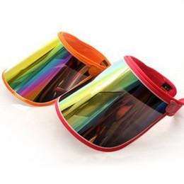 Wholesale uv light sun - Snapbacks Anti UV Light Cap Adjustable High Temperature Resistant Sun Visors For Outdoor Ride Women Casquette Hat High Quality 4ge B