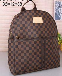 Wholesale Plain Key Chains - New Fashion Women Backpacks Women's MEN PU Leather Backpacks Girl School Bag High Quality Ladies Bags Designer Bolsas