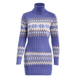fa3383dc59c sexy turtle neck tops Coupons - Winter Warm Women Sweater Long Sleeve Black  Blue Turtle Neck