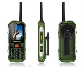 Wholesale random buttons - Walkie Talkie Mobile Phone!Power Bank Cell Phone!FM!2400mAh Big Battery!sos Button !Big Flashlight Big button Bar Phone Dual SIM card cheap