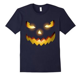 Wholesale Green Face Scary Halloween - Official Scary Face Halloween Costume T-shirt Pumpkin Ghost