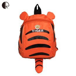Wholesale Backpacks For Toddler Girls - Wholesale-Tiger Backpack for Toddler Boys and Girls Children Travelling bag Kindergarten Schoolbag Cartoon Aminal Anti-lost Backpack
