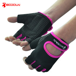 Wholesale Safety Wears - Crossfit Gloves Weight Lifting Gym Gloves for Men and Women Fitness Exercise Bowling Groves Wear Non-slip Sports Safety Weightlifting