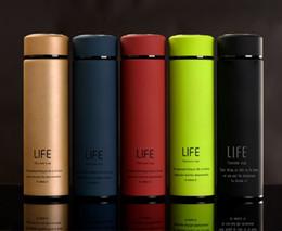 Wholesale Tea Thermal - 2017 500ml High Quality Fashion Stainless Steel Water Bottle Insulated Water Bottle Sport Shatterproof Matte Surface joyshaker water bottle