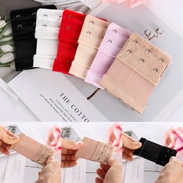673d8a5c93 2Pcs lot 2 3 4 Hooks Adjustable Fashion Intimates Accessories Women  Brassiere Strap Bra Buckle Extender Hook Extension Underwear