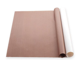 Wholesale Oiled Paper - Brown white Bakeware Mat Oil Paper Non-Stick Baking Sheet Pastry Kitchen Tool 30X40cm