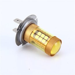 Wholesale golden motor - 1pcs BA20D H7 H4 P15D 12V 3030 28SMD Led Bulb MOTOR Brake Reverse Bulb Auto Led Light 1680Lm 4300K Warm White 6000K Golden