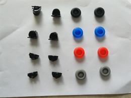 Apretones controlador de pulgar online-PS4 Joystick thumb Grip 8pcs colorido palillos analógicos stick + 2 par L2 / R2 gatillo + 2 par L1 / R1 gatillo para controladores PS4