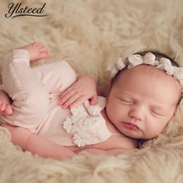2019 fotos suaves Bebê Foto Adereços Recém-nascidos Macacão Estirar Suave Romper Do Laço Do Bebê Recém-nascido Roupas de Fotografia Infantil Imagem Tiro Adereços desconto fotos suaves