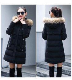 Wholesale Real Fur Trimmed Coats Women - New Design Luxury Natural Fur coat With Fur Hood Trimming Real Fur Parka