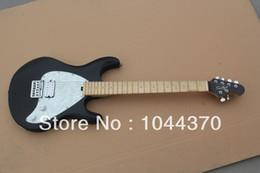 Wholesale pick guard guitar - Wholesale - 2012 New classic black with silver pick guard OEM guitar