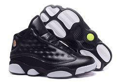 Wholesale Bonds Discount - Mens Basketball Shoes 13 Bred Black True Red History Of Flight DMP Discount Sports Shoe Women Sneakers 13s Black Cat