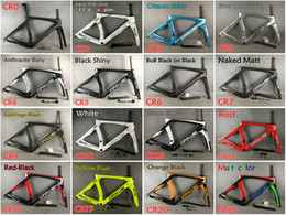 Wholesale 1k carbon road frame - 24 Colors for selection T1000 UD 3K 1K 2018 Mcipollini RB1K THE ONE carbon road frames with BB86 Matte Glossy free shipping