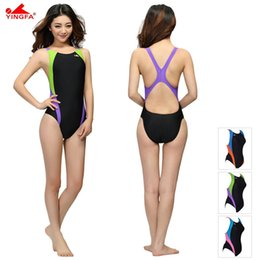 ad235d43c4264 Chinese Yingfa Professional Swimsuit Women Swimwear Sports Racing  Competition Sexy Leotard Tight Lady Bodybuilding Bathing Suit