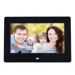 Tycipy 7 дюймов HD LED ЖК-экран кадры фоторамка Цифровая фоторамка электронная 1240 * 600 WIFI поддержка Видеоплеер от