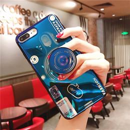 iphone bleu 3d case Promotion Coque Blue Ray 3D YunRT Coque Bleu Étui Coque TPU Coque Rigide Pour iPhone