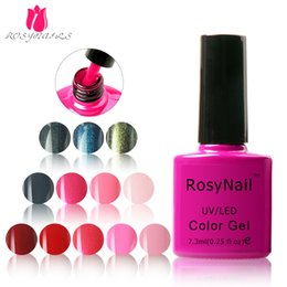 Wholesale Gel Nails Salons - wholesale nail salon nail gel polish 7.3ml color coat134colors longlasting uv gel nail polish