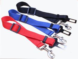 Wholesale Pet Hound - Pet Dog Car Safety Seat Belt Adjustable Clip Lead Leash for Dogs Pet Puppy Hound Vehicle Seatbelt 09