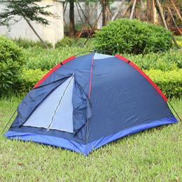 sacchetti di tenda in nylon Sconti Beach Tent Outdoor Outdoor Tent Kit In fibra di vetro Pole Resistenza all'acqua con borsa per escursionismo Viaggiare due persone