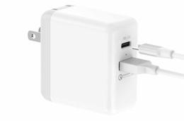 Canada Chargeur USB C PD avec alimentation de 27,6 W Alimentation 3.0 Chargeur mural rapide à double port de 18 W QC 18 Offre