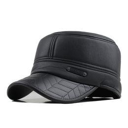 92650b0eb3c2 Berretto da baseball cappello da uomo caldo inverno 2018 con berretti  auricolari, berretti piatti, copri-cappelli per uomo, caschi, borsellini,  berretti, ...