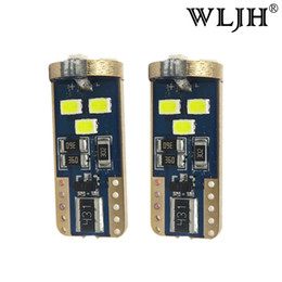 Wholesale Cities Auto - WLJH White T10 W5W 168 Canbus Auto Interior External LED Light for Volkswagen Beetle EOS Golf Golf City Jetta Passat Tiguan