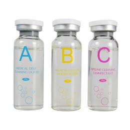 Aqua Solución Peeling 3 Botellas / 20 ml Concentrado por botella de Aqua Serum Facial Hydra Hydro facial Peeling Micderomabrasion líquidos Nutritions desde fabricantes