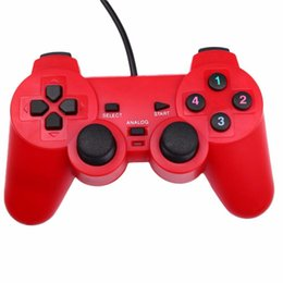 Wholesale Gifts For Gamers - Gasky New Vibration USB Wired ABS Game Controller Gamepad Joystick For Windows PC Video Game Console Gaming Kid Boy Gamer Gift