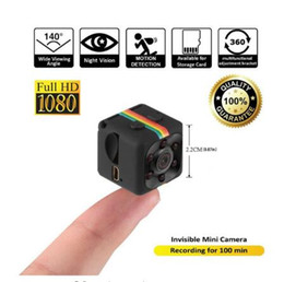 Wholesale hidden night cameras - Mini Camera 1080P Sport DV Mini Infrared Night Vision Monitor Hidden Small Camera Small Camera DV Video Recorder